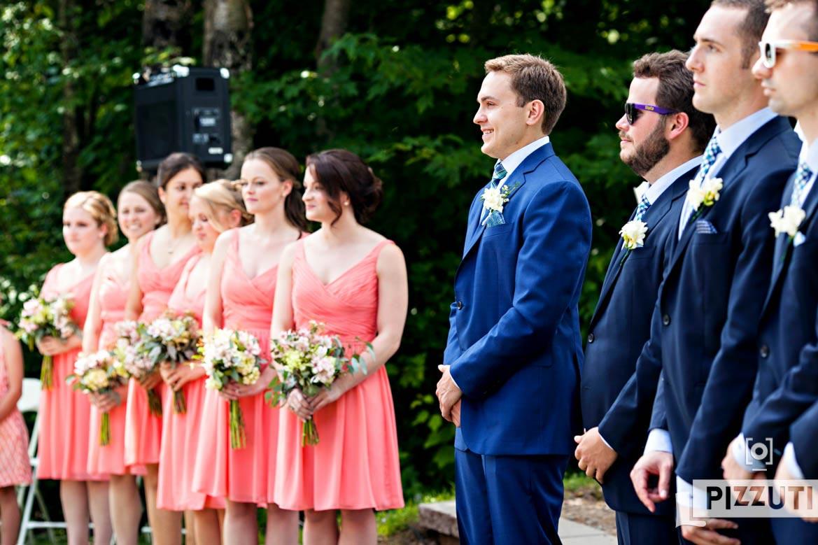 ma wedding photographers waterville valley wedding ma