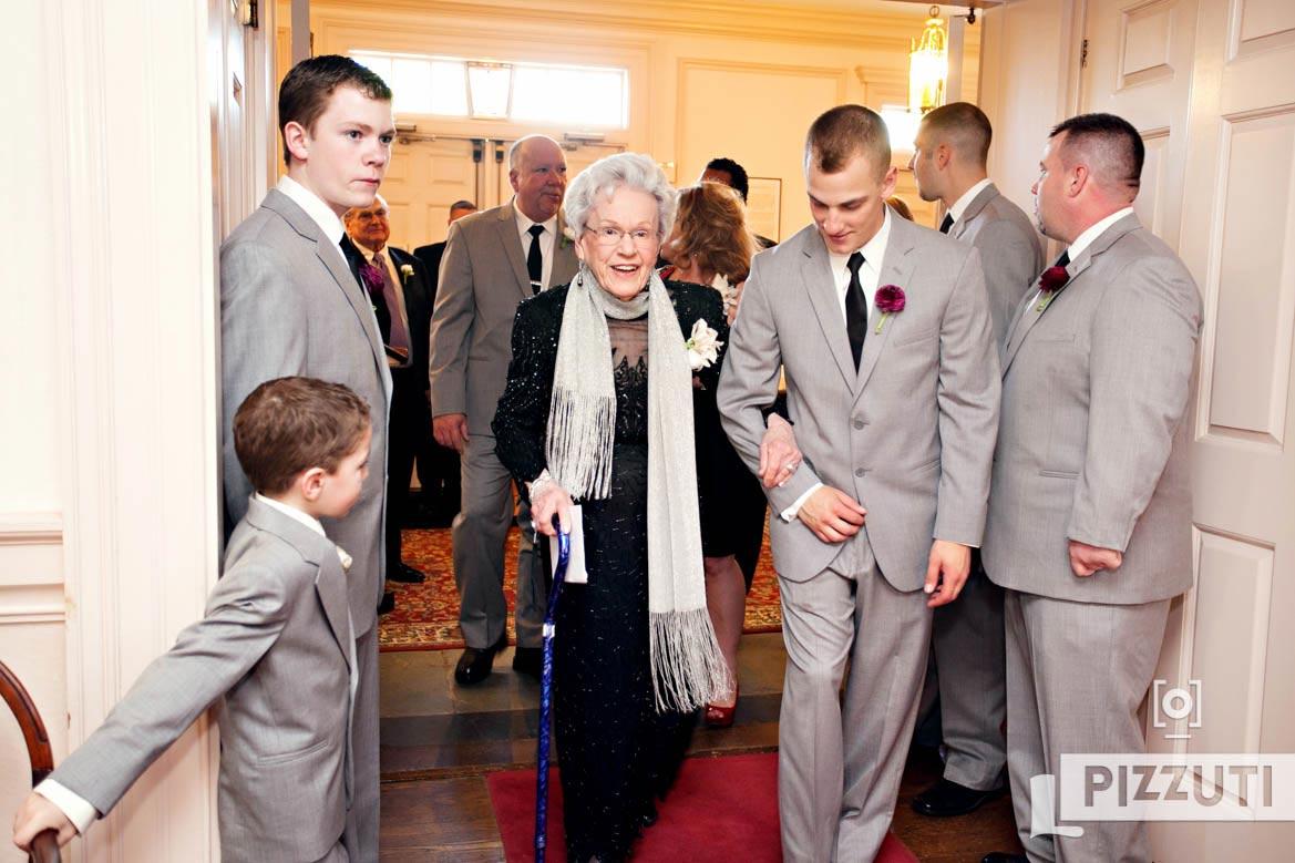 wedding-groomsmen-church-family