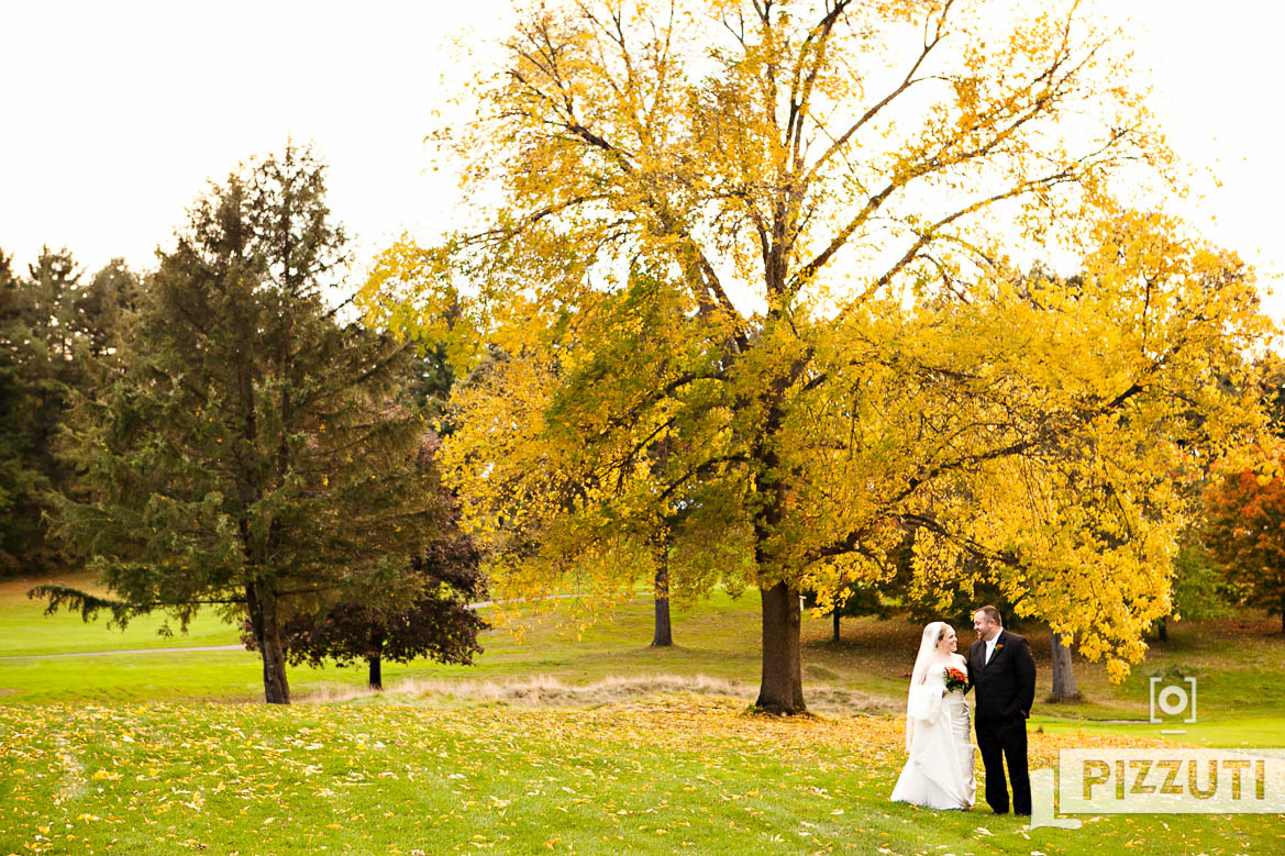 Bolton Wedding Photo in Fall