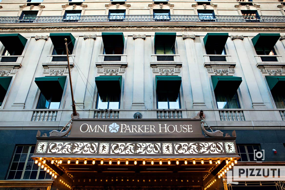 Omni Parker House Wedding