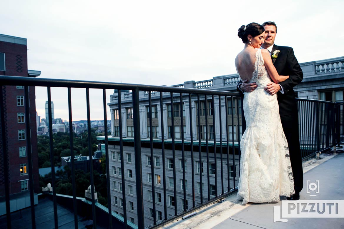 On The Roof - Omni Parker Hotel Wedding Boston
