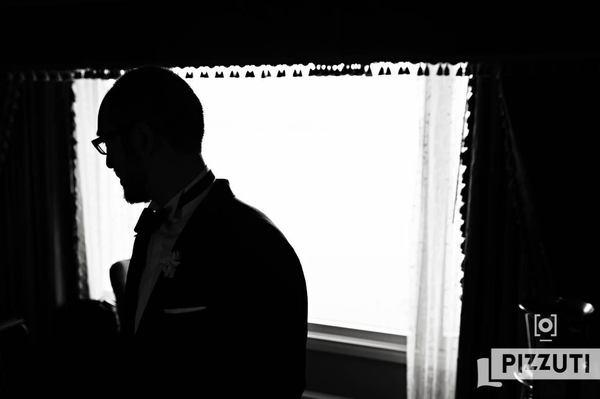 Groom Silhouette Boston Harbor Hotel