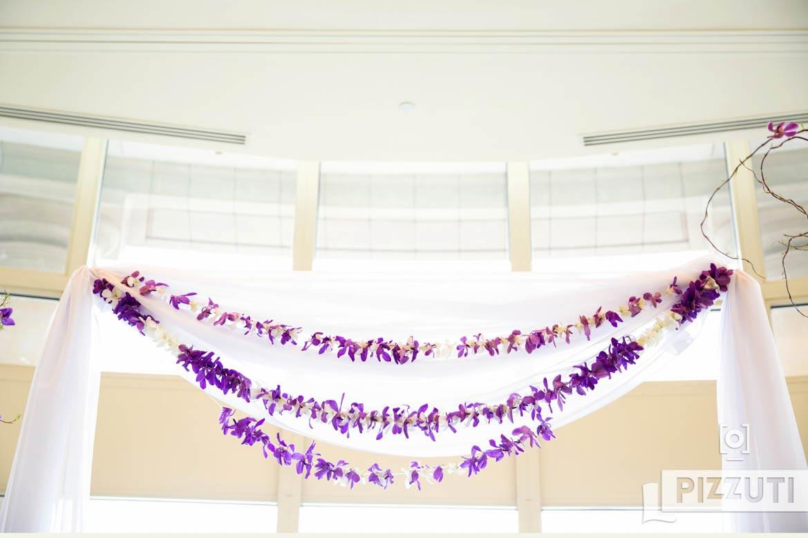 Ceremony Decoration Purple