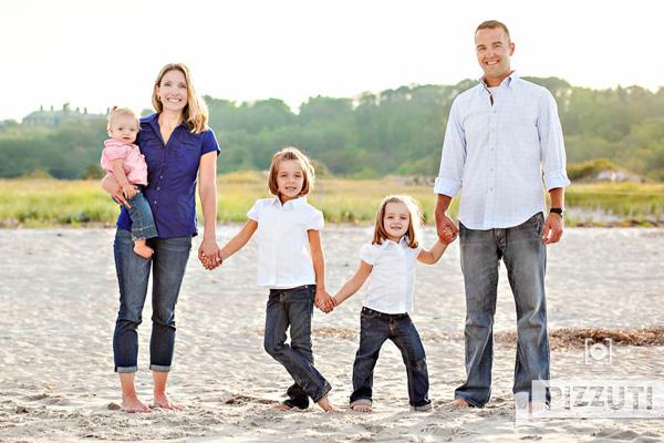 family photo at crane estate