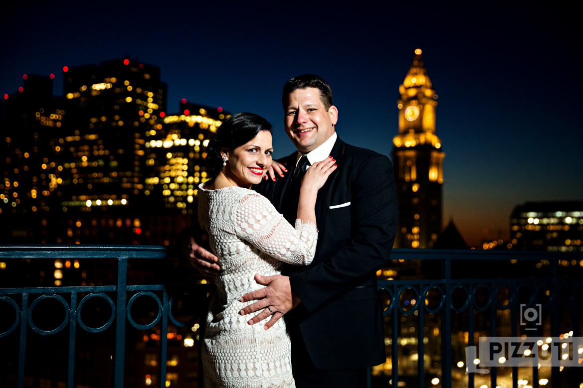 Jarrod and Heather - Boston Harbor Hotel