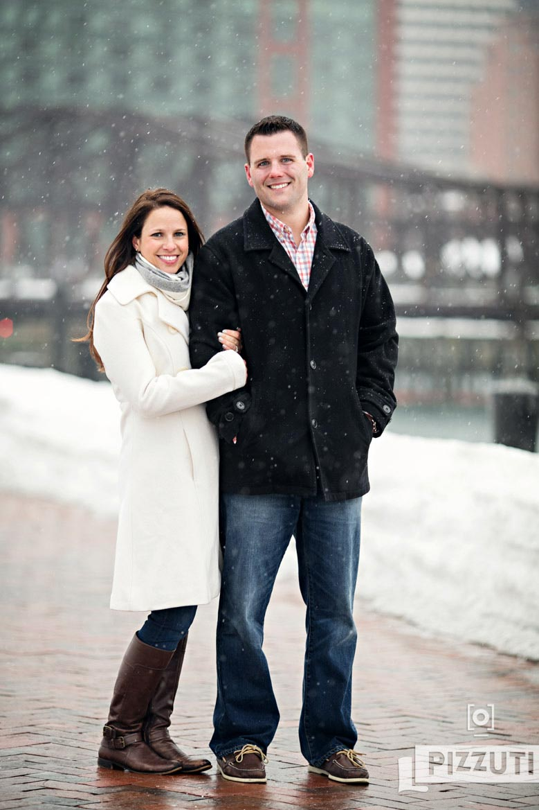 Boston Winter Engagement Session – Katie and Mike