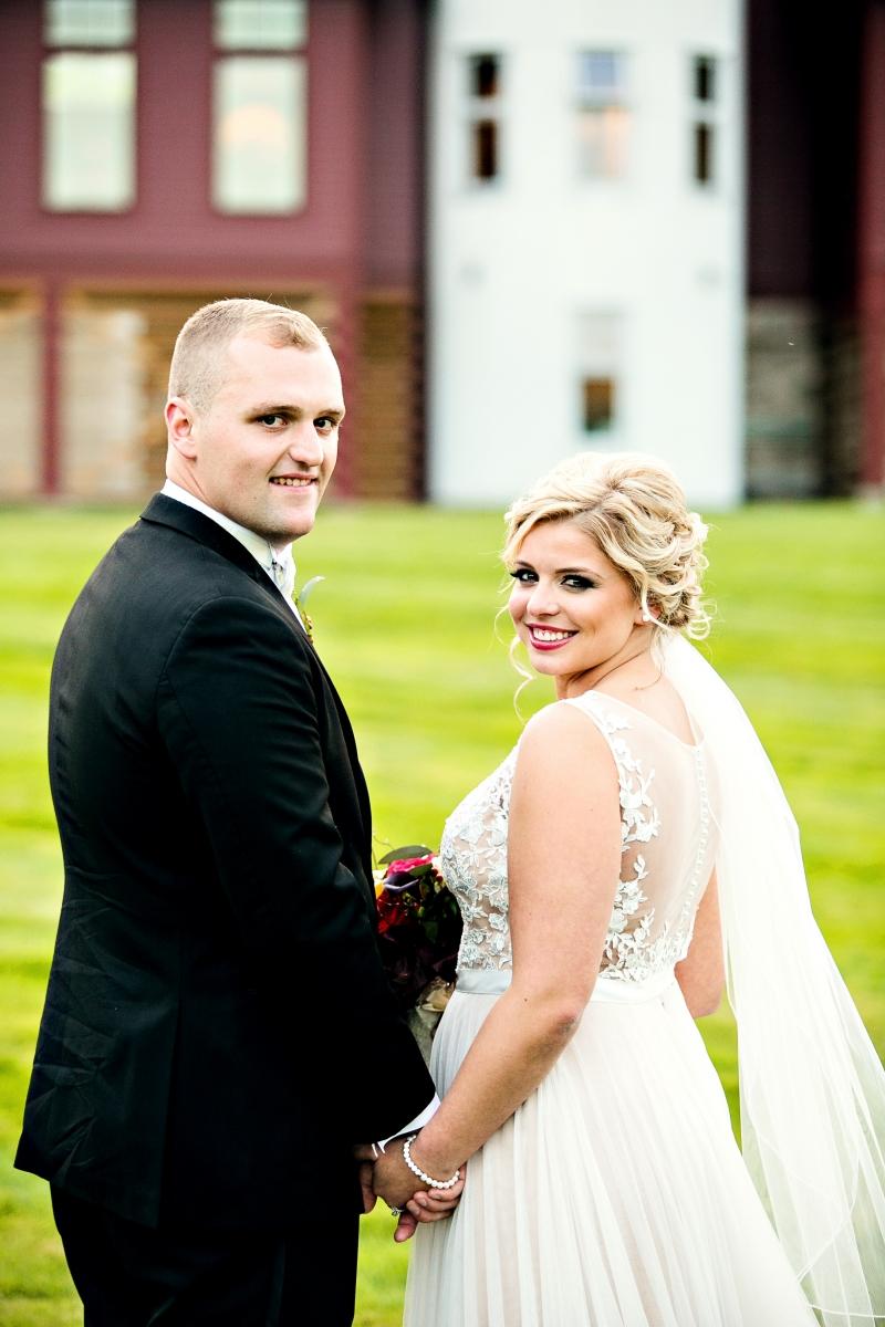 Fall Gibbet Hill Wedding