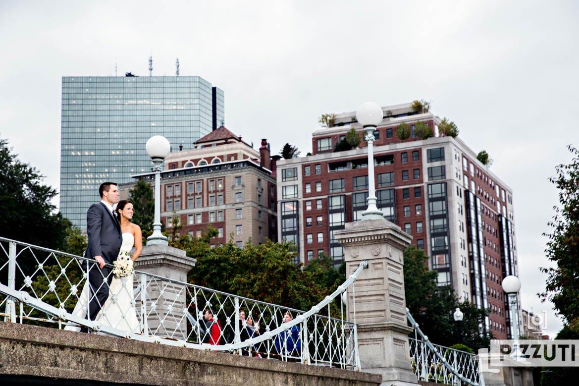 courtyard boston downtown wedding public gardens