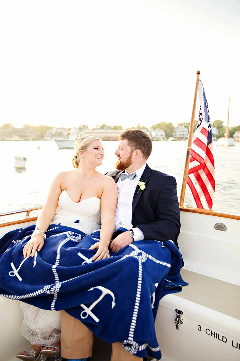 A Chappy Wedding | Edgartown Reception