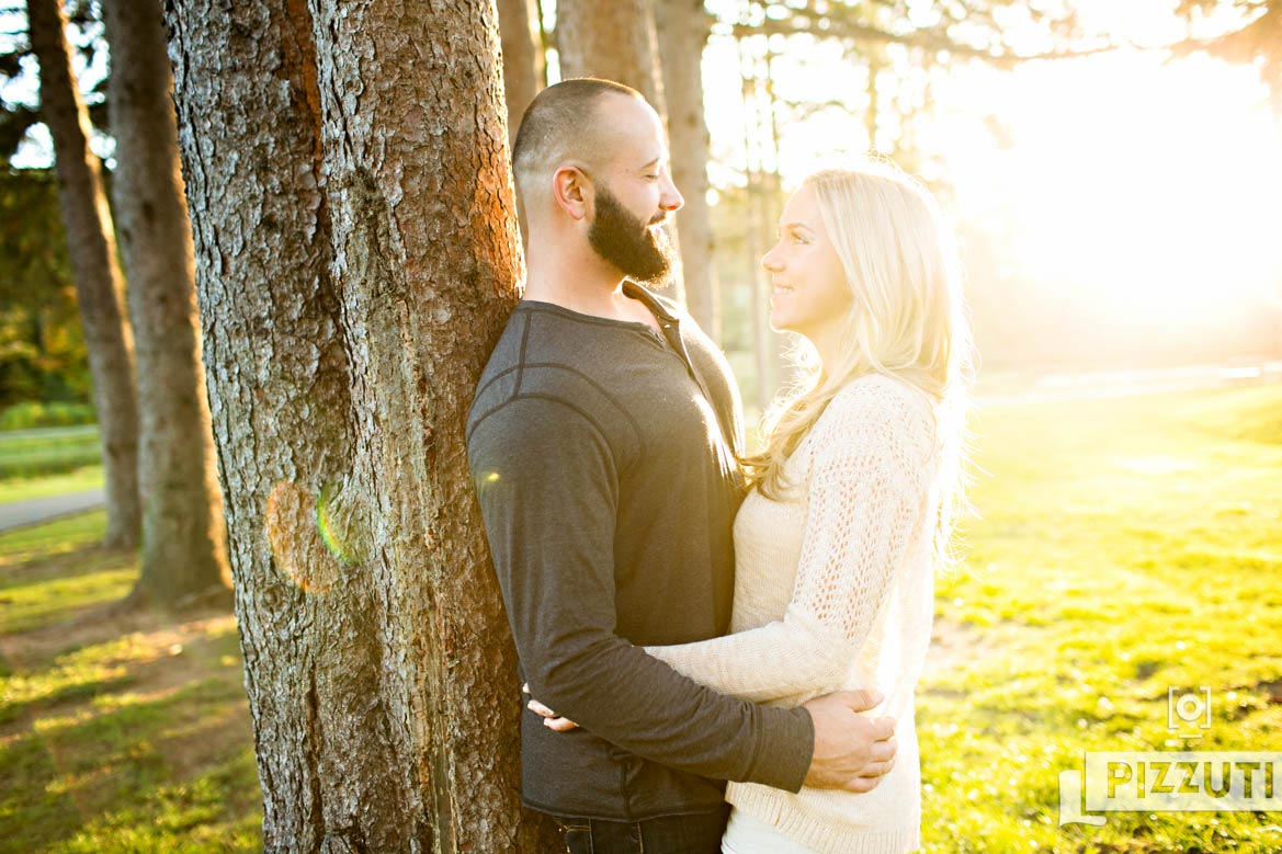 New Hampshire Autumn Engagement Session