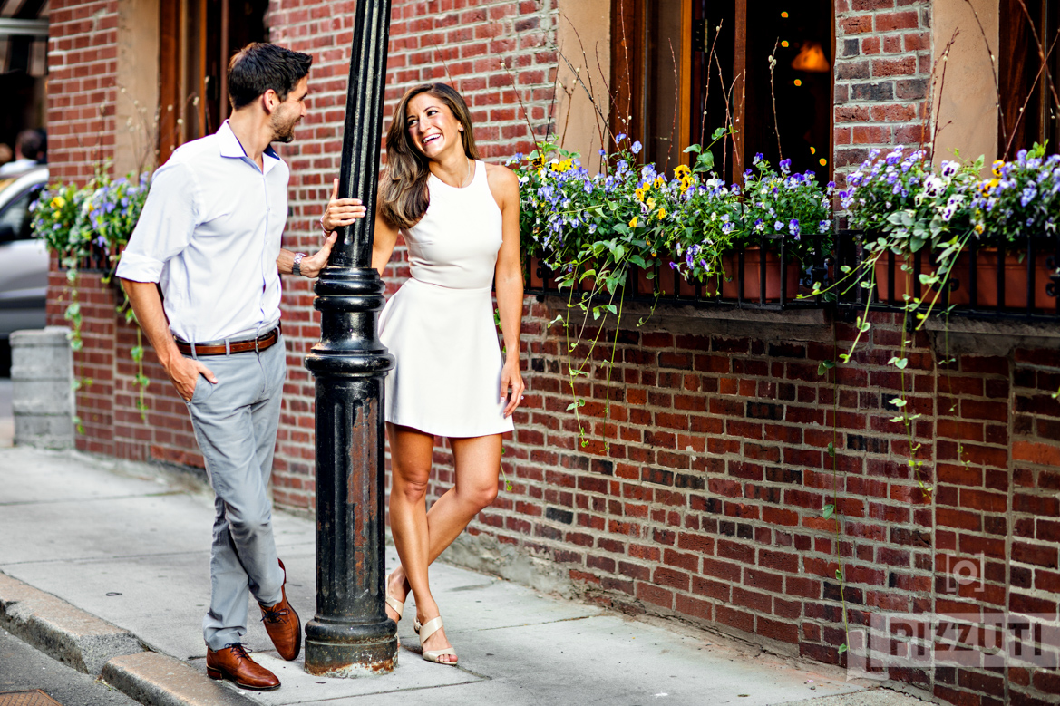 North End Engagement Session | Brian and Chelsey