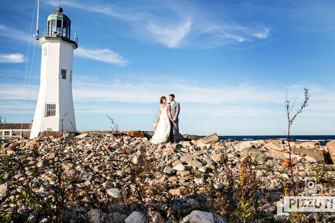 scituate wedding, scituate lighthouse
